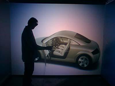 Машина в виртуальной реальности
