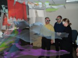 Виртуальная реальность в анализе 3D сейсмики